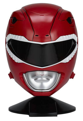 Bandai - Mighty Morphin Power Rangers - Legacy - 1:1 Scale Red Ranger Helmet - Marvelous Toys - 1