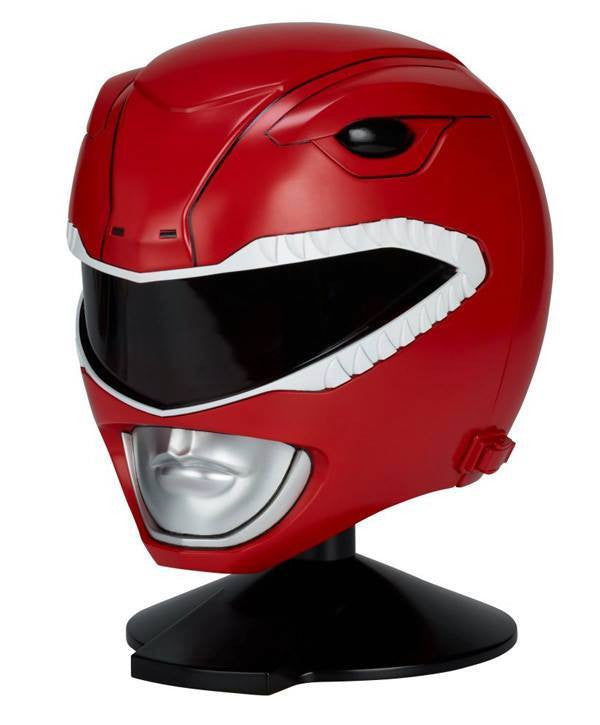 Bandai - Mighty Morphin Power Rangers - Legacy - 1:1 Scale Red Ranger Helmet - Marvelous Toys - 2