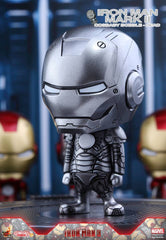 (IN STOCK) Hot Toys – COSB262 – Iron Man 3 - Iron Man Mark II Cosbaby Bobble-Head - Marvelous Toys - 1