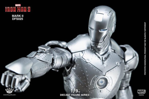 King Arts - DFS025 - Iron Man 3 - 1/9th Scale Iron Man Mark II - Marvelous Toys - 2