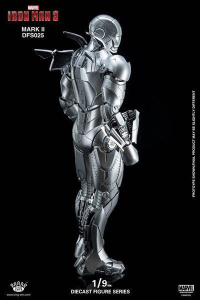 King Arts - DFS025 - Iron Man 3 - 1/9th Scale Iron Man Mark II - Marvelous Toys - 3