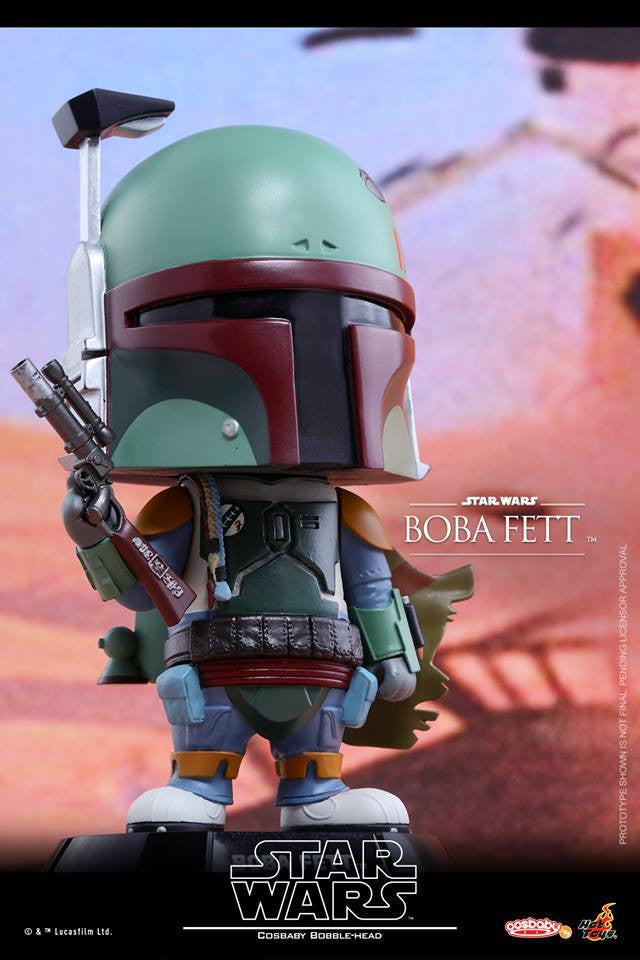 Hot Toys - COSB307 - Star Wars - Boba Fett Cosbaby Bobble-Head - Marvelous Toys - 2
