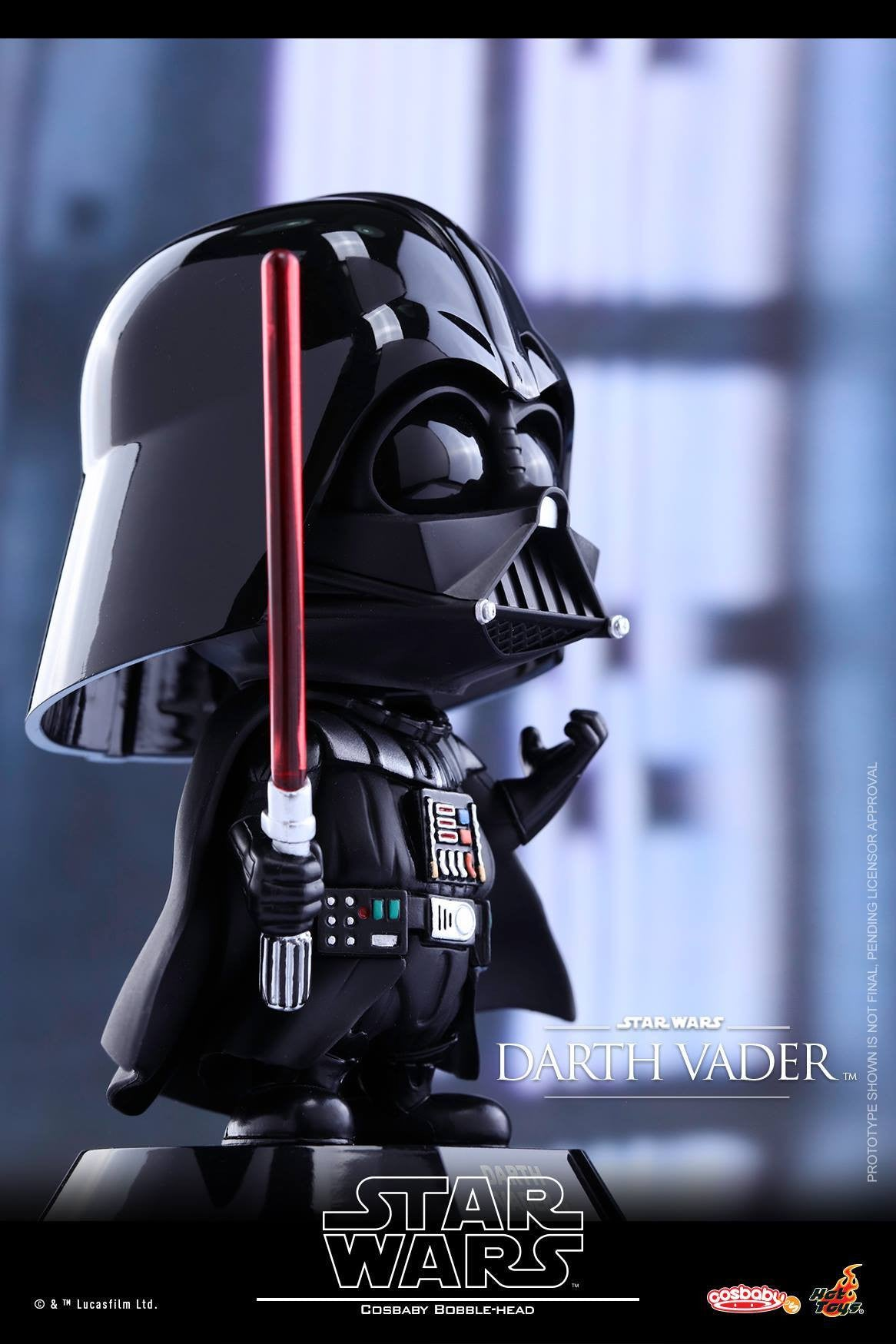 Hot Toys - COSB305 - Star Wars - Darth Vader Cosbaby Bobble-Head - Marvelous Toys - 2