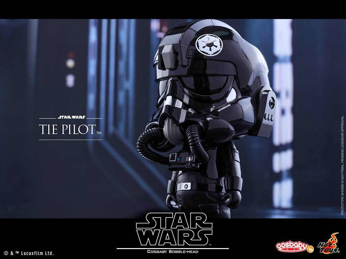 Hot Toys - COSB308 - Star Wars - TIE Pilot Cosbaby Bobble-Head - Marvelous Toys - 2