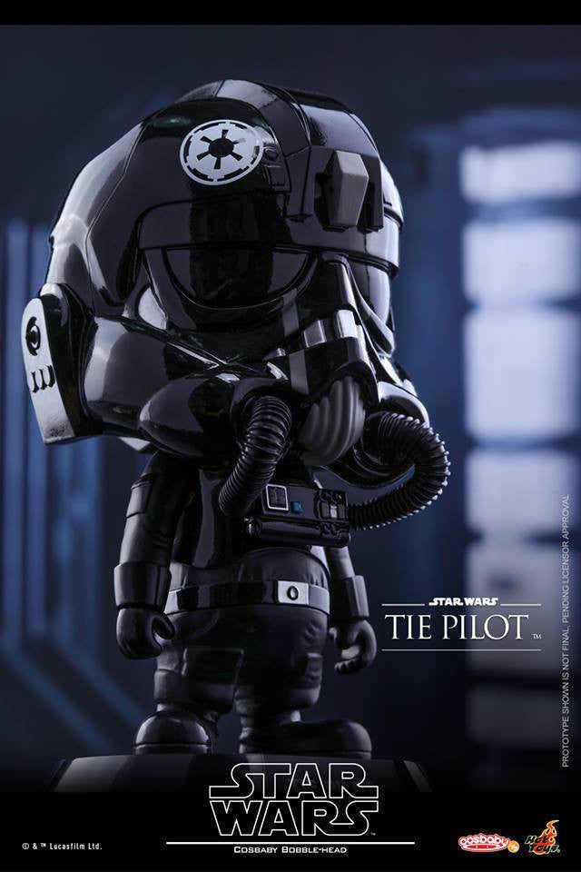 Hot Toys - COSB308 - Star Wars - TIE Pilot Cosbaby Bobble-Head - Marvelous Toys - 1