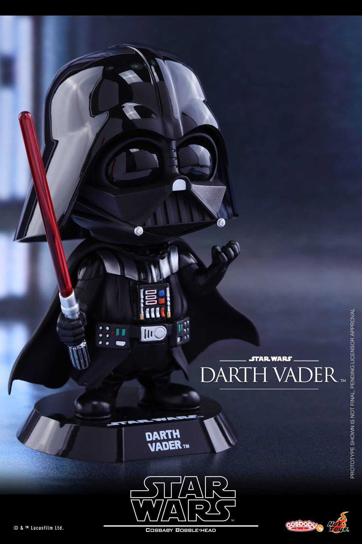 Hot Toys - COSB305 - Star Wars - Darth Vader Cosbaby Bobble-Head - Marvelous Toys - 1