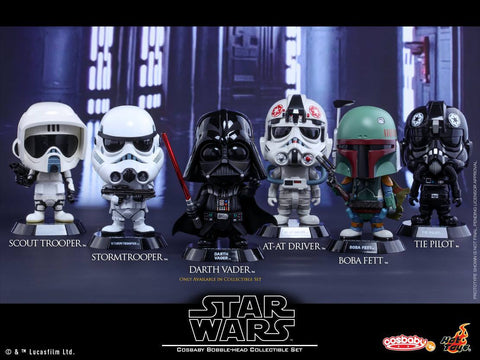 Hot Toys - COSB311 - Star Wars Cosbaby Bobble-Head Series Set - Marvelous Toys - 1