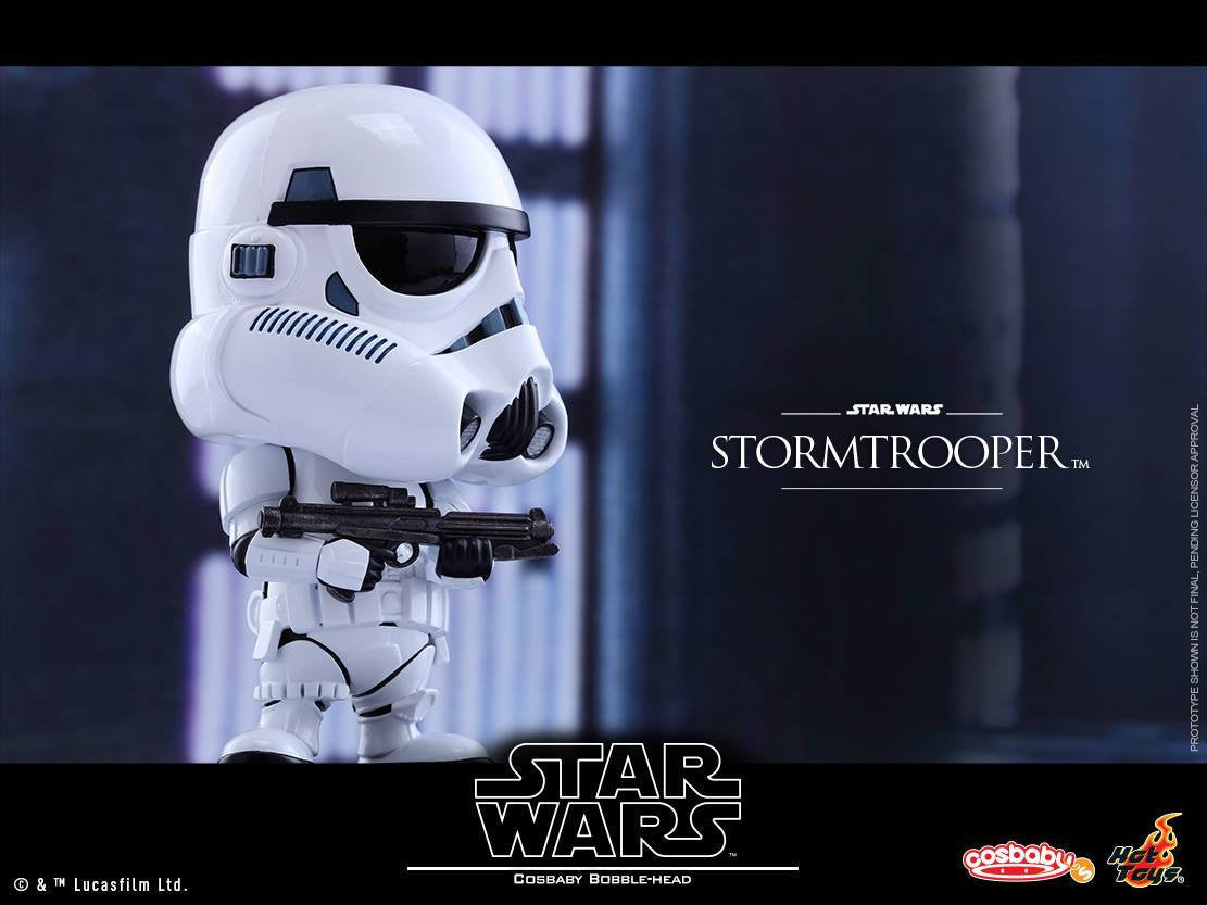 Hot Toys - COSB306 - Star Wars - Stormtrooper Cosbaby Bobble-Head - Marvelous Toys - 2