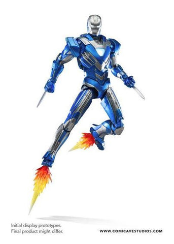 Comicave Studios - Omni Class: 1/12 Scale Iron Man Mark XXX Blue Steel - Marvelous Toys - 1