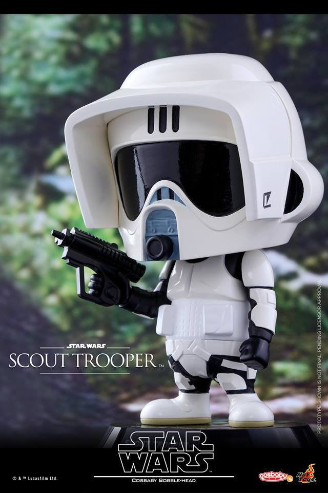 Hot Toys - COSB310 - Star Wars - Scout Trooper Cosbaby Bobble-Head - Marvelous Toys - 1