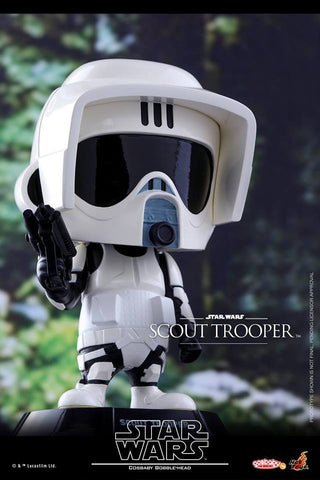 Hot Toys - COSB310 - Star Wars - Scout Trooper Cosbaby Bobble-Head - Marvelous Toys - 2