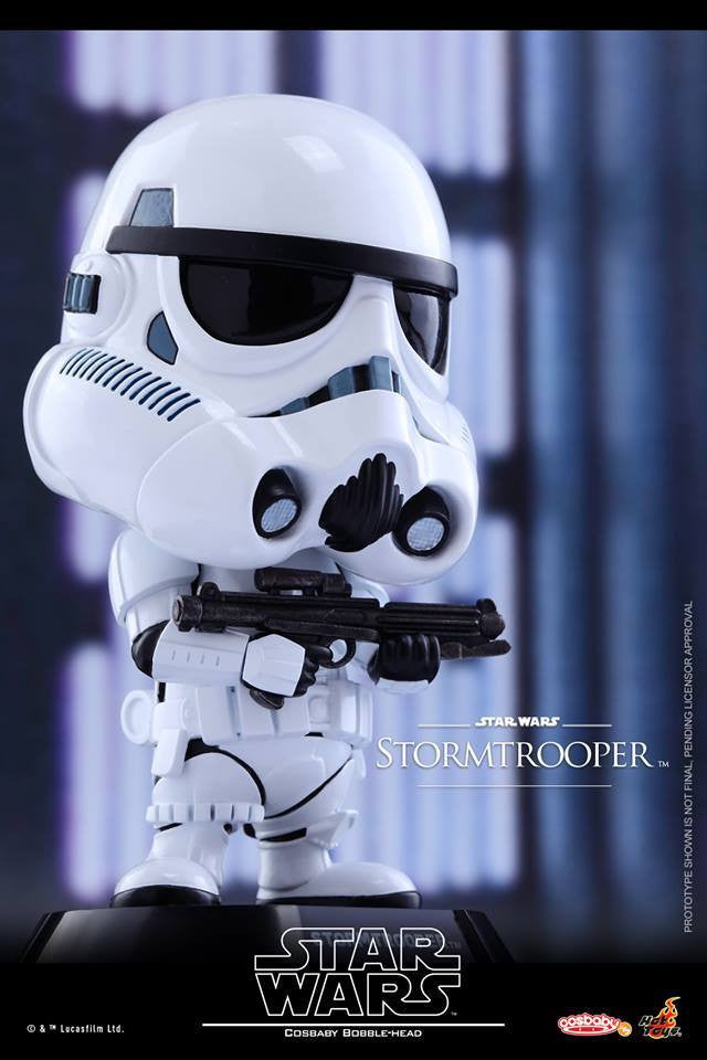 Hot Toys - COSB306 - Star Wars - Stormtrooper Cosbaby Bobble-Head - Marvelous Toys - 1