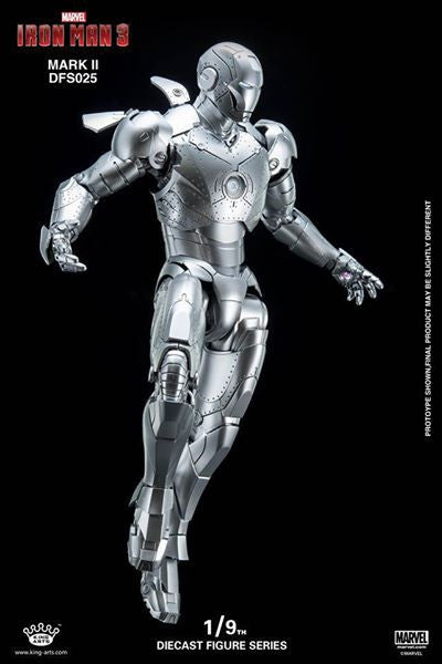 King Arts - DFS025 - Iron Man 3 - 1/9th Scale Iron Man Mark II - Marvelous Toys - 1