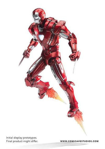 Comicave Studios - Omni Class: 1/12 Scale Iron Man Mark XXXIII Silver Centurion - Marvelous Toys - 1