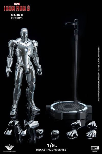 King Arts - DFS025 - Iron Man 3 - 1/9th Scale Iron Man Mark II - Marvelous Toys - 4