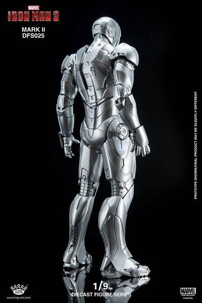 King Arts - DFS025 - Iron Man 3 - 1/9th Scale Iron Man Mark II - Marvelous Toys - 5