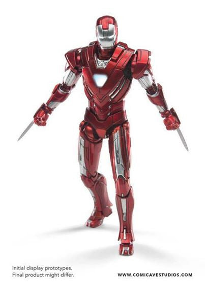 Comicave Studios - Omni Class: 1/12 Scale Iron Man Mark XXXIII Silver Centurion - Marvelous Toys - 4