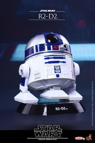 Hot Toys - COSB299 – Star Wars: The Force Awakens – R2-D2 Cosbaby Bobble-Head - Marvelous Toys