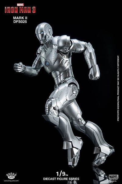 King Arts - DFS025 - Iron Man 3 - 1/9th Scale Iron Man Mark II - Marvelous Toys - 6