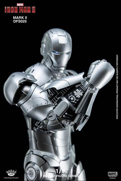 King Arts - DFS025 - Iron Man 3 - 1/9th Scale Iron Man Mark II - Marvelous Toys - 7