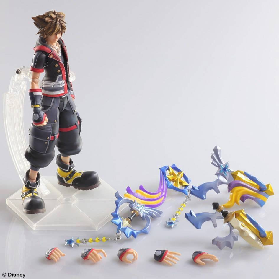 Play Arts Kai - Kingdom Hearts III - Sora - Marvelous Toys - 8