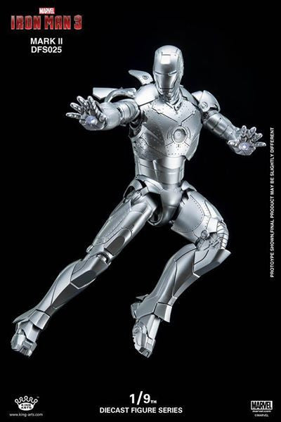 King Arts - DFS025 - Iron Man 3 - 1/9th Scale Iron Man Mark II - Marvelous Toys - 8