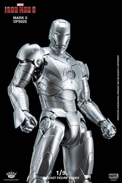 King Arts - DFS025 - Iron Man 3 - 1/9th Scale Iron Man Mark II - Marvelous Toys - 9