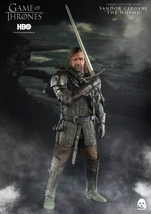"ThreeZero - Game of Thrones - Sandor Clegand ""The Hound"" - Marvelous Toys - 1"
