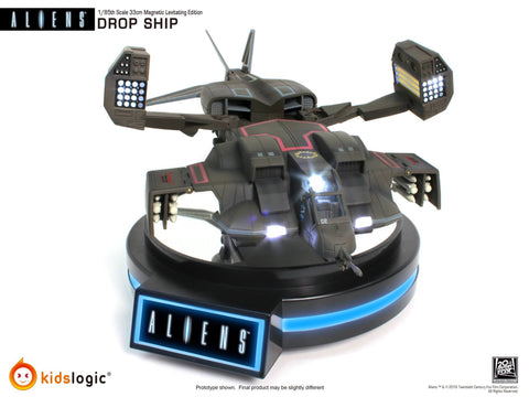 Kids Logic - ML-04 - Aliens - 1/85 Magnetic Levitating Drop Ship - Marvelous Toys - 1