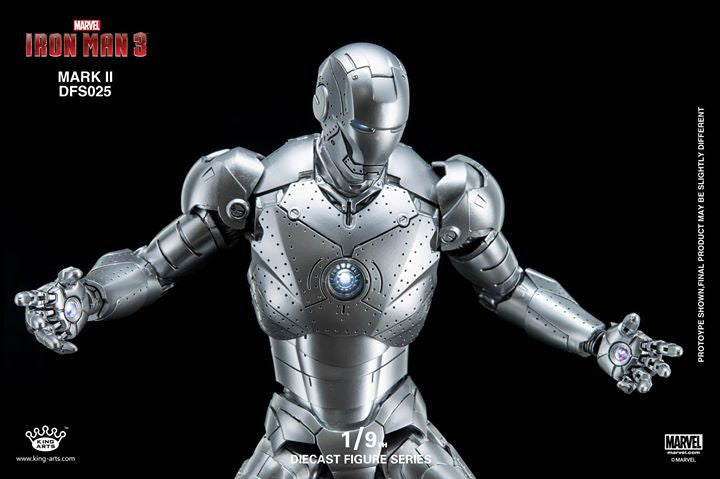 King Arts - DFS025 - Iron Man 3 - 1/9th Scale Iron Man Mark II - Marvelous Toys - 13
