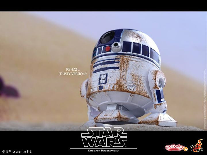 Hot Toys - COSB300 – Star Wars – C-3PO & R2-D2 (Dusty Version) Cosbaby Bobble-Head Collectible Set - Marvelous Toys - 7