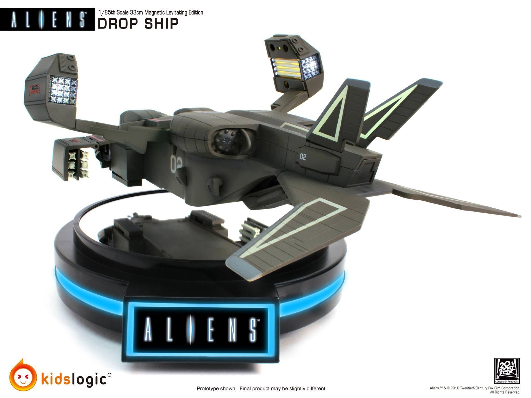 Kids Logic - ML-04 - Aliens - 1/85 Magnetic Levitating Drop Ship - Marvelous Toys - 5