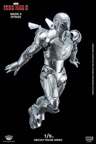 King Arts - DFS025 - Iron Man 3 - 1/9th Scale Iron Man Mark II - Marvelous Toys - 14