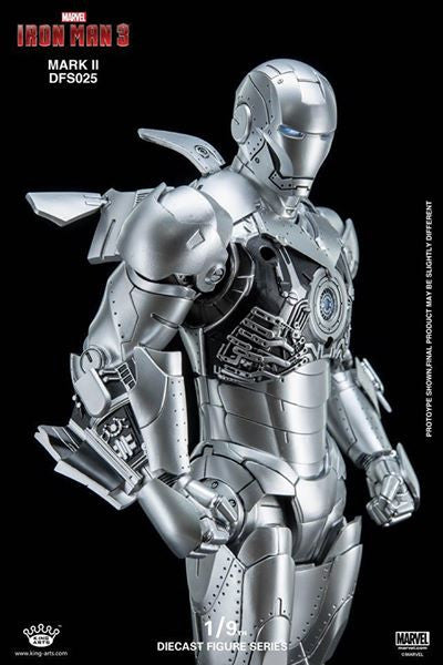 King Arts - DFS025 - Iron Man 3 - 1/9th Scale Iron Man Mark II - Marvelous Toys - 15