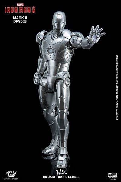 King Arts - DFS025 - Iron Man 3 - 1/9th Scale Iron Man Mark II - Marvelous Toys - 16