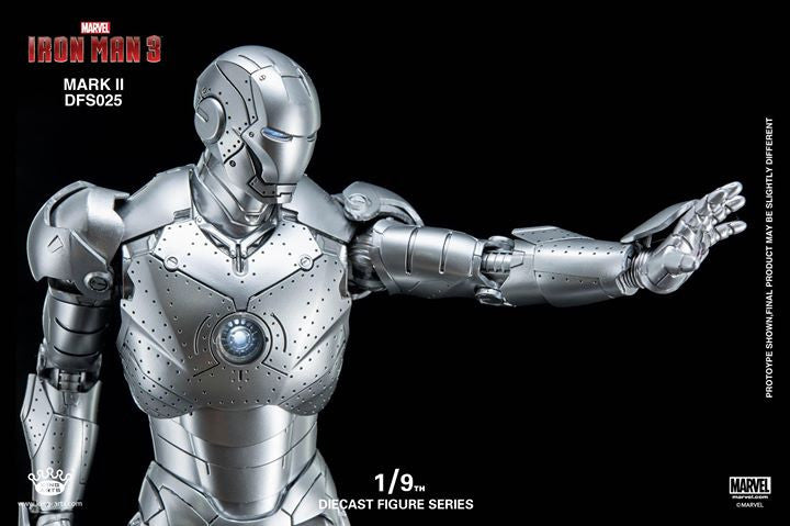 King Arts - DFS025 - Iron Man 3 - 1/9th Scale Iron Man Mark II - Marvelous Toys - 17
