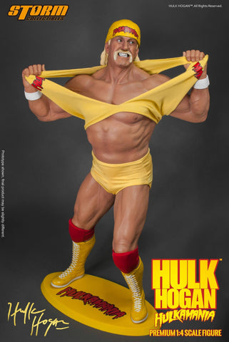 Storm Collectibles - 1/4th Scale Premium Figure - Hulk Hogan Hulkamania - Marvelous Toys - 1