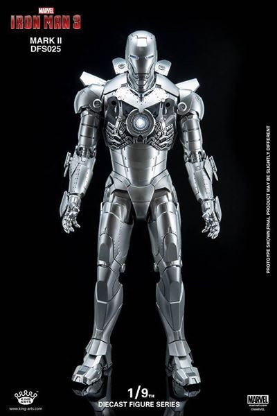 King Arts - DFS025 - Iron Man 3 - 1/9th Scale Iron Man Mark II - Marvelous Toys - 18