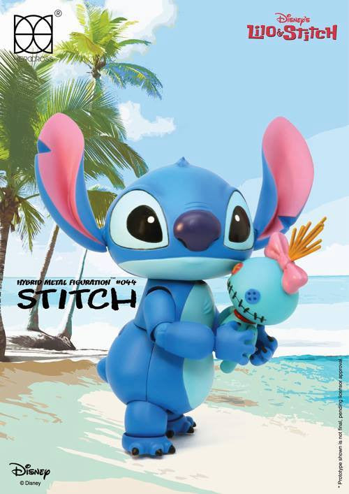 Herocross - Hybrid Metal Figuration HMF044 - Stitch - Marvelous Toys - 1