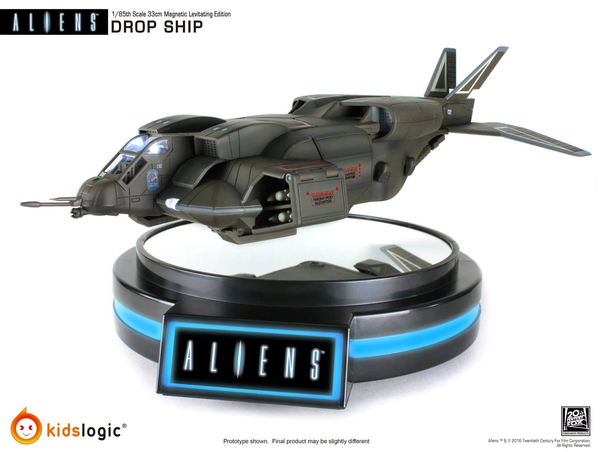 Kids Logic - ML-04 - Aliens - 1/85 Magnetic Levitating Drop Ship - Marvelous Toys - 3