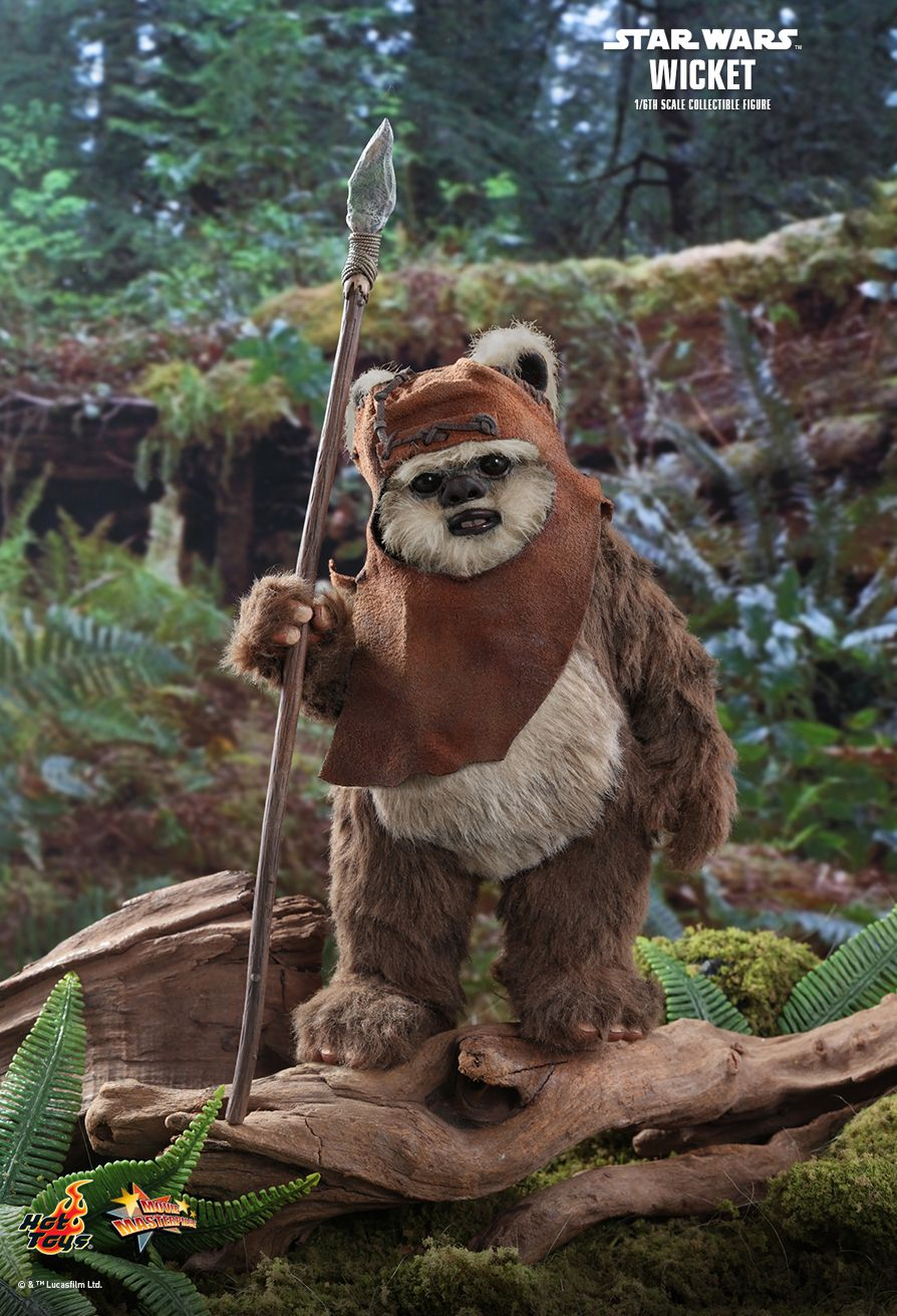 Hot Toys - MMS550 - Star Wars: Return of the Jedi - Wicket the Ewok
