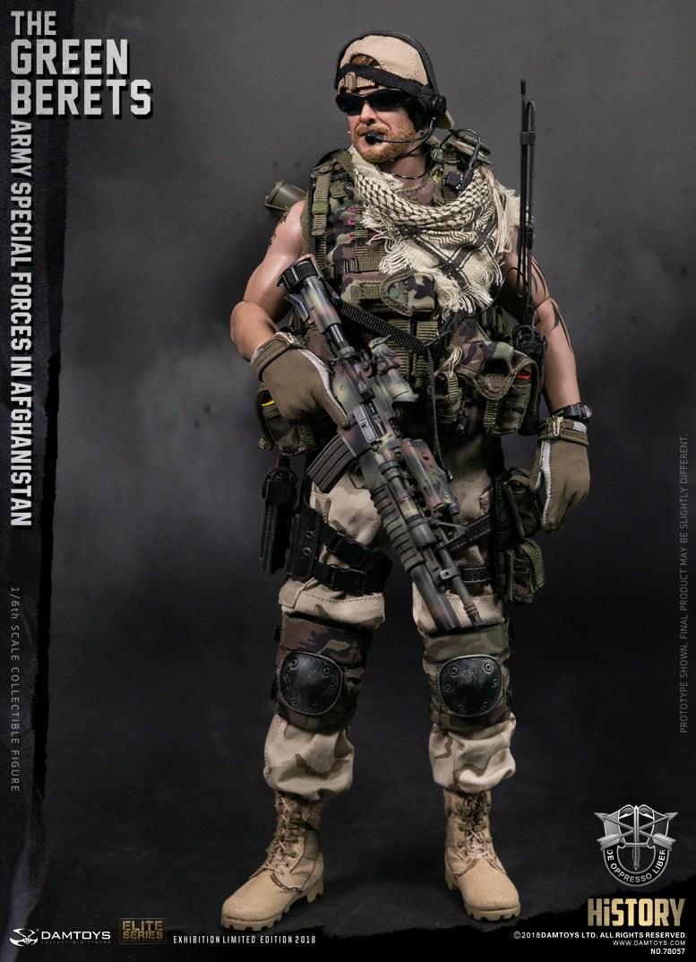 "Damtoys - Elite Series - ""The Green Berets"" Army Special Forces in Afghanistan (2018 Expo Exclusive)"