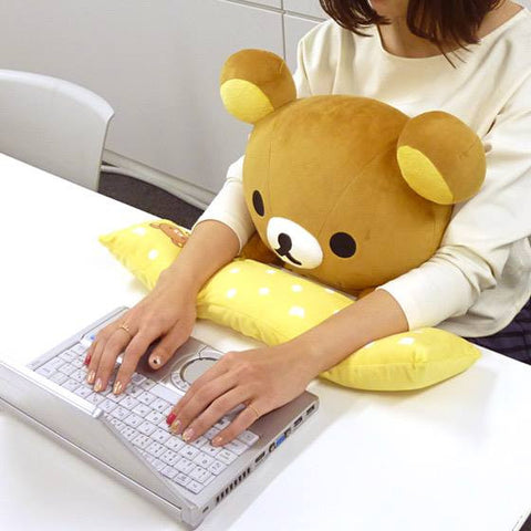 Bandai Online Exclusive - Rilakkuma PC Cushion - Marvelous Toys - 1
