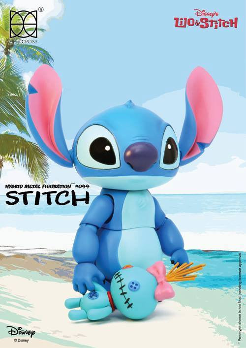 Herocross - Hybrid Metal Figuration HMF044 - Stitch - Marvelous Toys - 2