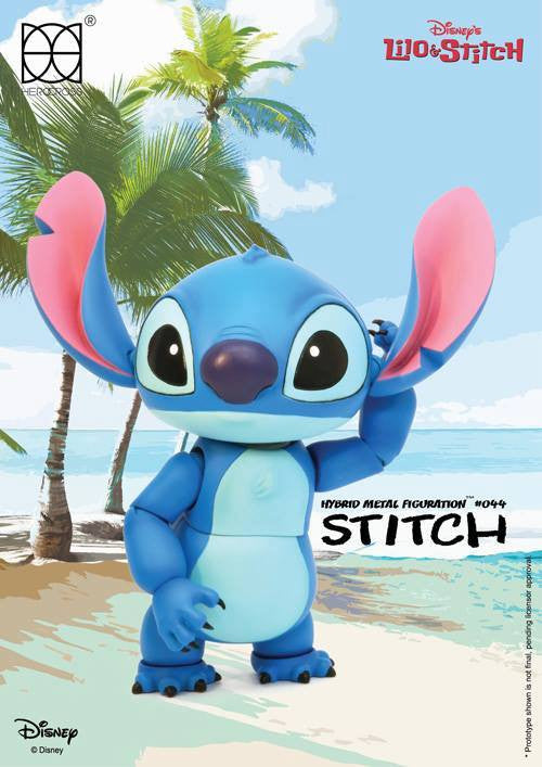Herocross - Hybrid Metal Figuration HMF044 - Stitch - Marvelous Toys - 3