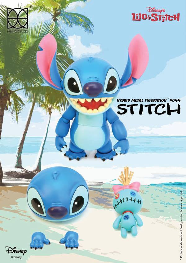 Herocross - Hybrid Metal Figuration HMF044 - Stitch - Marvelous Toys - 7