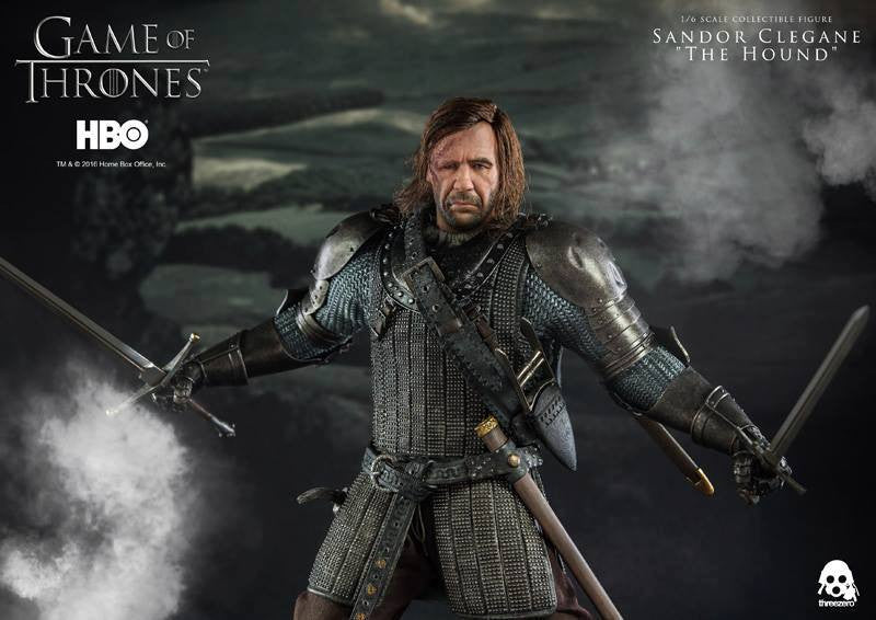 "ThreeZero - Game of Thrones - Sandor Clegand ""The Hound"" - Marvelous Toys - 3"
