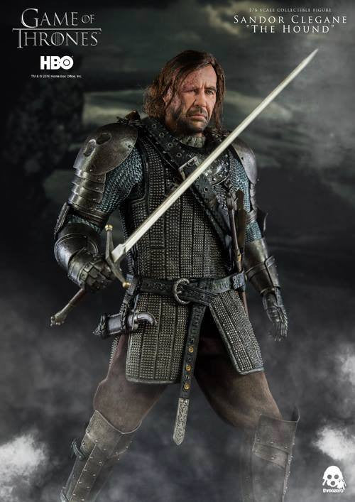 "ThreeZero - Game of Thrones - Sandor Clegand ""The Hound"" - Marvelous Toys - 4"