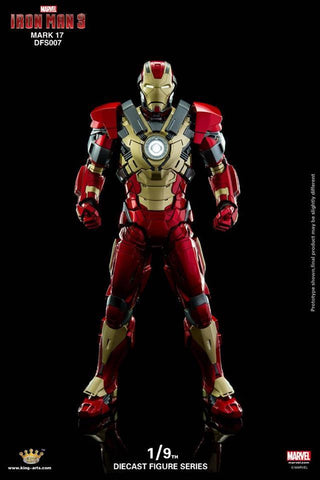 King Arts - DFS007 - Iron Man 3 - Iron Man Mark XVII (Heartbreaker) - Marvelous Toys - 2