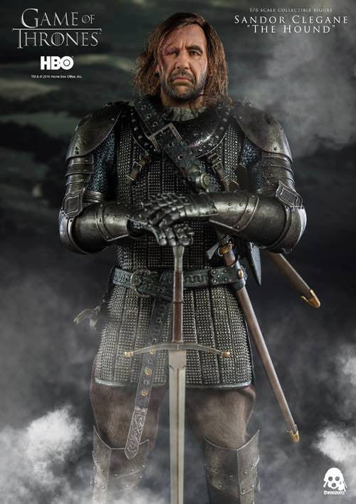 "ThreeZero - Game of Thrones - Sandor Clegand ""The Hound"" - Marvelous Toys - 5"